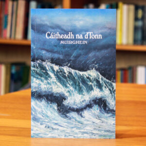 Cover of Irish language novel Cáitheadh na dTonn