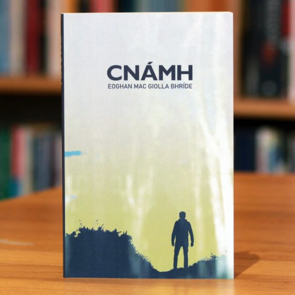 Cover of collection of short stories by Eoghan Mac Giolla Bhride called Cnámh